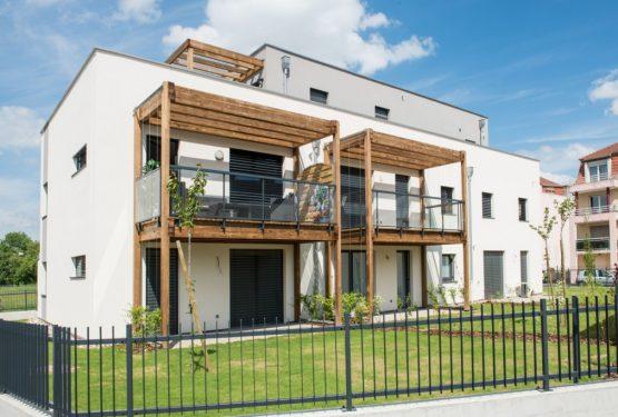 10 maisons et 18 logements BEPASS à Strasbourg-Neuhof, par SCHWEITZER et Associés Architectes