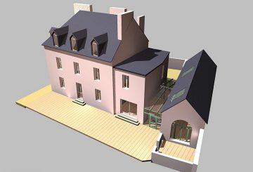 Aménagement/extension habitation, par MAISEAU