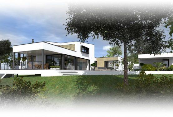 Construction d'une maison à Vertou, par ATELIER 14