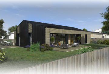 Construction d'une maison à la Chevrolière (44), par ATELIER 14