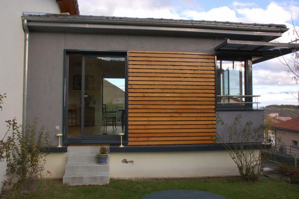 extension d habitation en ossature bois par esquisse architectes maison d 39 architecte. Black Bedroom Furniture Sets. Home Design Ideas