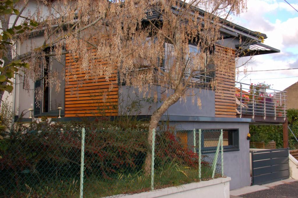 Extension D Habitation En Ossature Bois Par Esquisse Architectes Maison D 39 Architecte