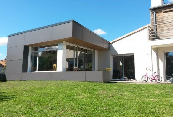 Extension d'une maison d'une maison à Clisson, par ATELIER 14