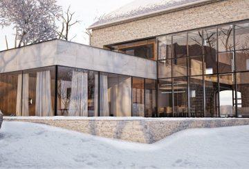 Extension et reconversion d'une bergerie en aveyron, par Fabrice Commerçon
