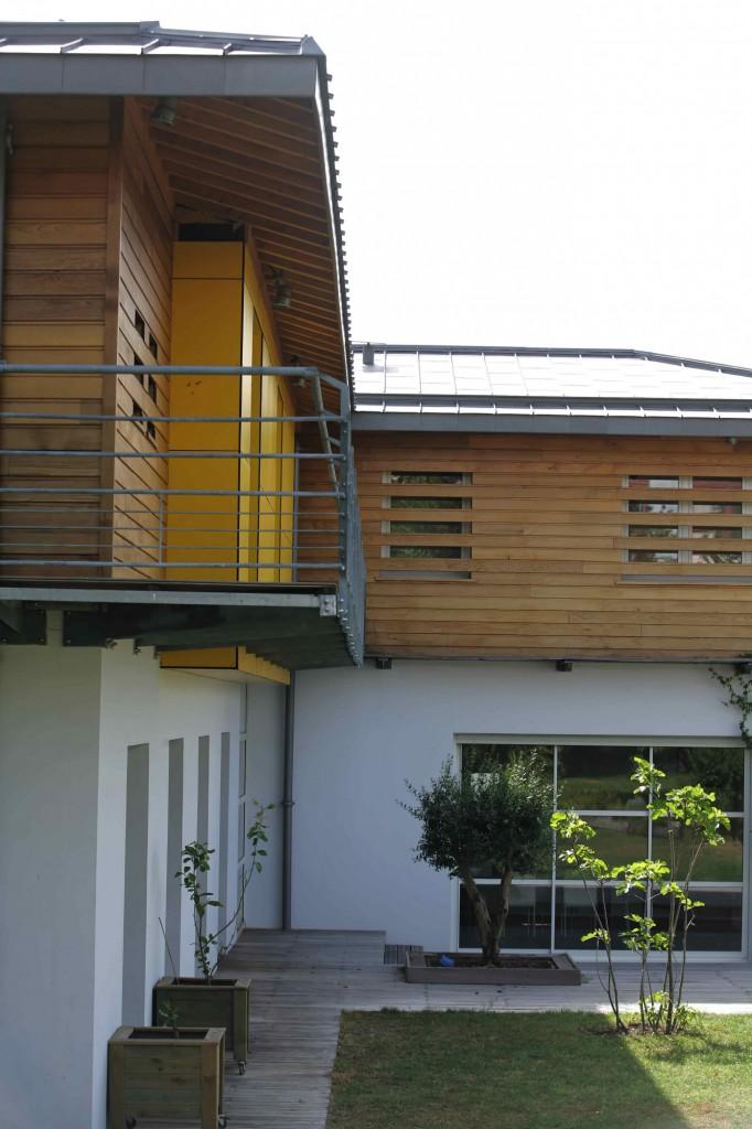 Maison individuelle caud ran par agence michel apard for Architecte bordeaux maison individuelle