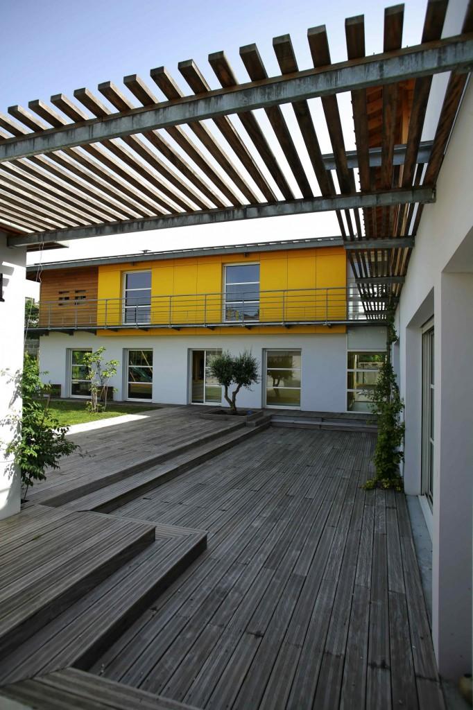 Maison individuelle caud ran par agence michel apard for Classement constructeur maison individuelle