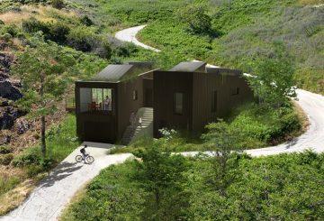 Maison à énergie économe à Cuttoli-Corticchioto en Corse, par ATELIER POTENTIEL