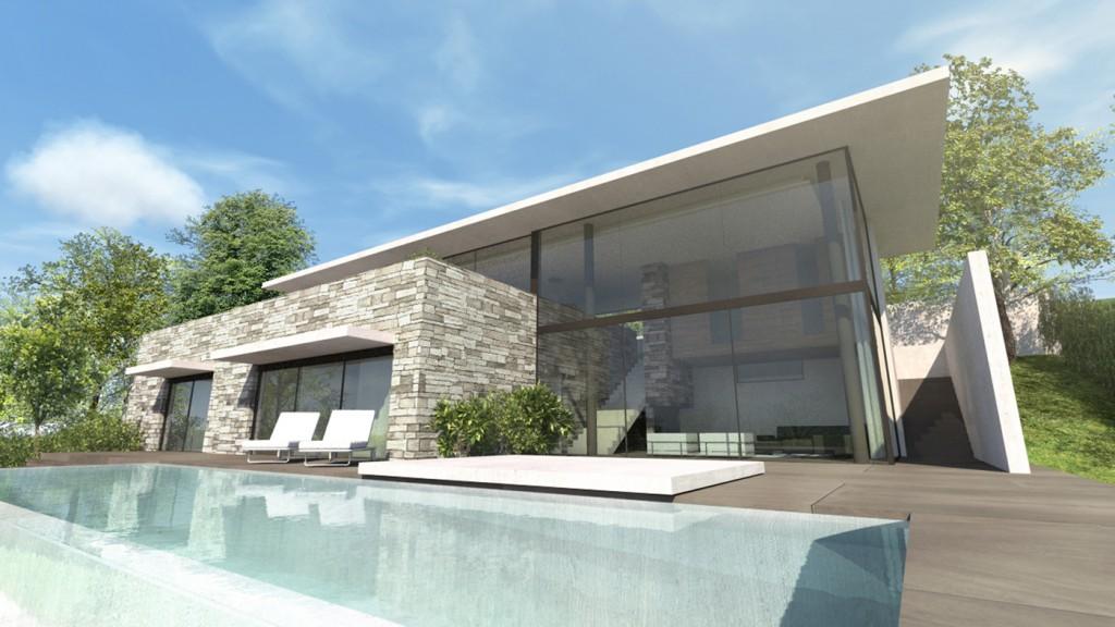 Maison a aix les bains savoie par jy arrivetz architecte maison d 39 architecte - Maison moderne architecte ...