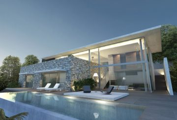 Maison A – Aix-les-bains – Savoie, par Jy Arrivetz architecte