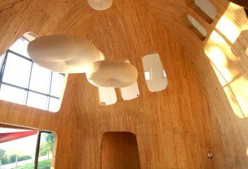 Maison Amalur, intérieur en bois massif, par Inaki NOBLIA