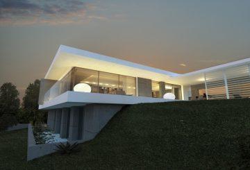 Maison MA – Saint Cyr au Mont d'Or – Rhône, par Jy Arrivetz architecte