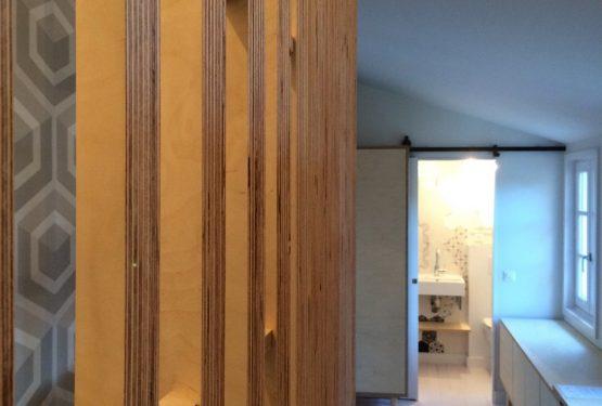 Maison MB – Aménagement d'une petite extension pour accueillir les amis., par Manicot