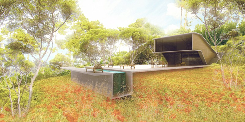 Maison vi sanary sur mer par florent doux architecte for Architecte sanary sur mer