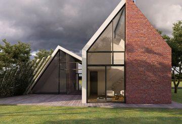 Maison bioclimatique en baie de somme, par Fabrice Commerçon