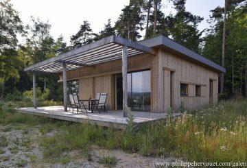 Maison bois, par ATELIER 3A ARCHITECTES