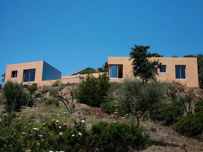 maison comtemporaine villa isaky par franceschi maison d 39 architecte. Black Bedroom Furniture Sets. Home Design Ideas
