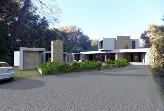 Maison contemporaine 280m², par Cyril Curto Architecte ALES