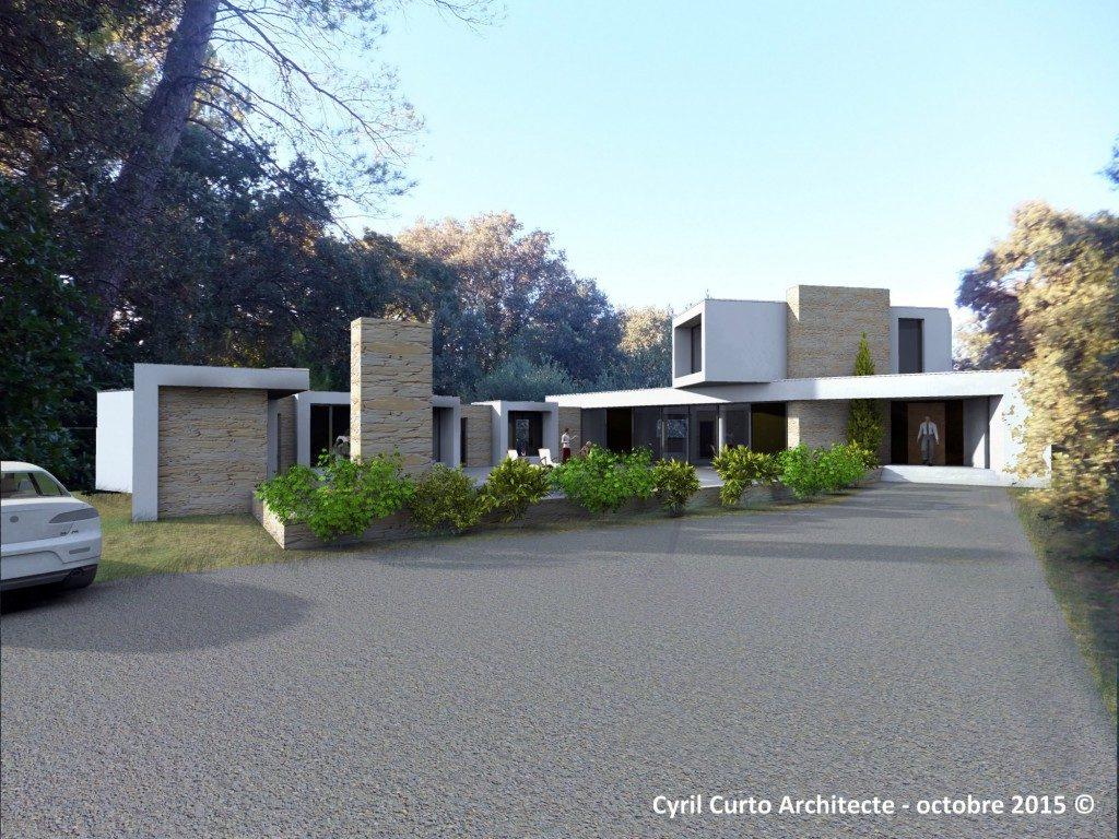 Architecte Bas Rhin maison contemporaine 280m², par cyril curto architecte ales