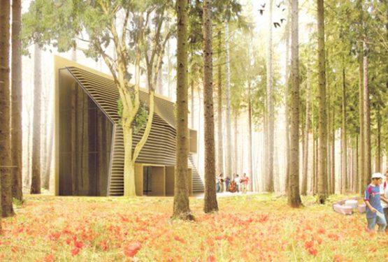 Maison en bois en Auvergne, par Florent Doux Architecte