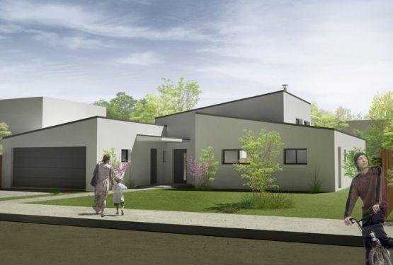 Maison individuelle à Vern-sur-Seiche, par ATELIER POTENTIEL