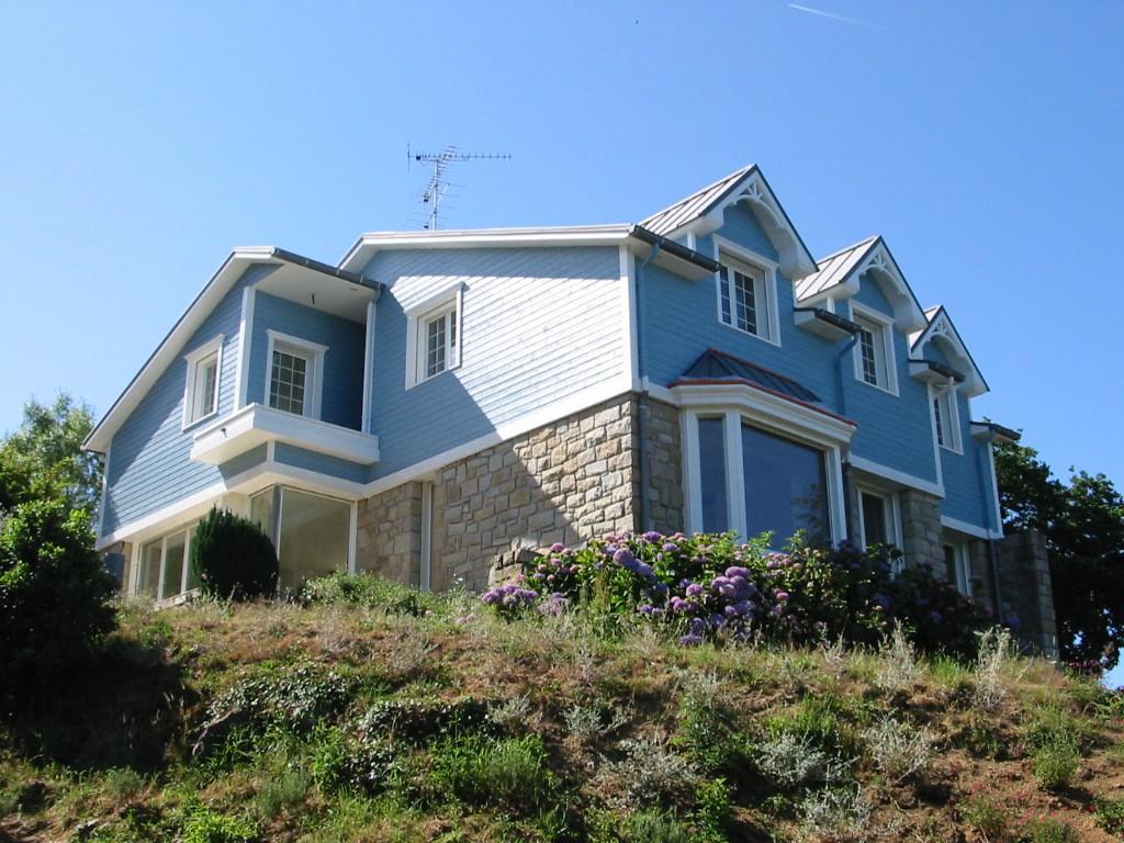 Maison individuelle etables sur mer par gross quelen for Architecte maison individuelle