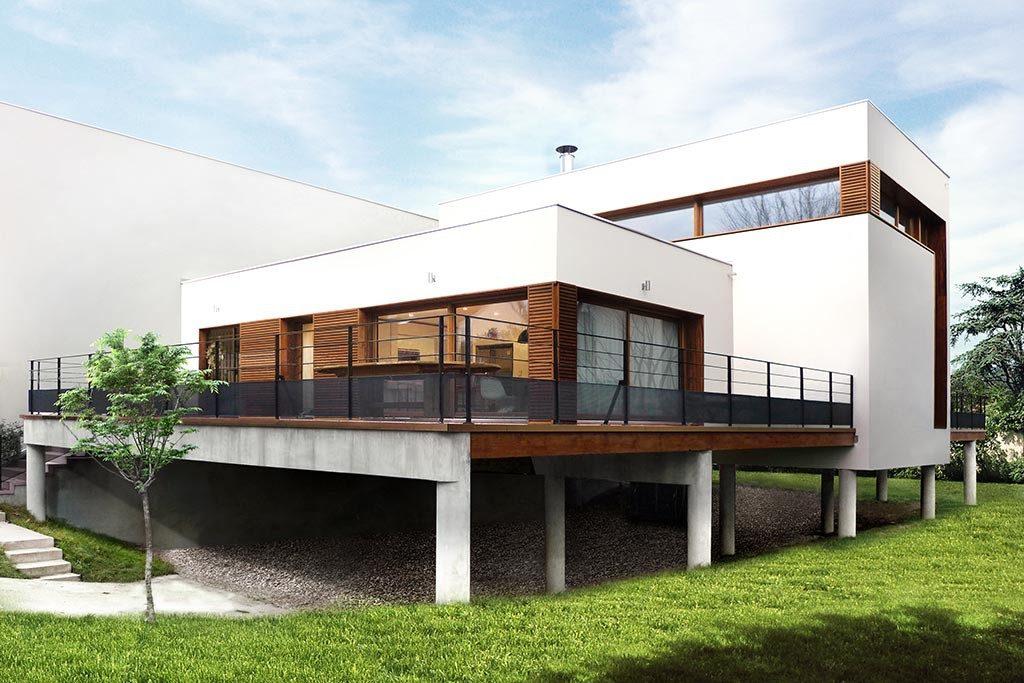 Maison sur le pont u maison individuelle à joinville le pont par