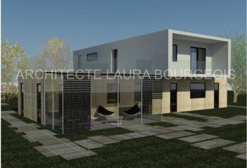 Maison unifamiliale 220 m², par MADAME LAURA MARINA BOURGEOIS