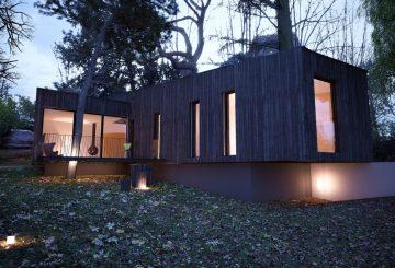 Projet de maison à Sèvres, par Fabrice Commerçon