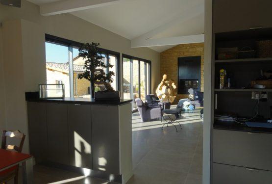 Réhabilitation maison pierres dorées – exemple 3, par ATELIER D'ARCHITECTURE SAINT-GERMAIN