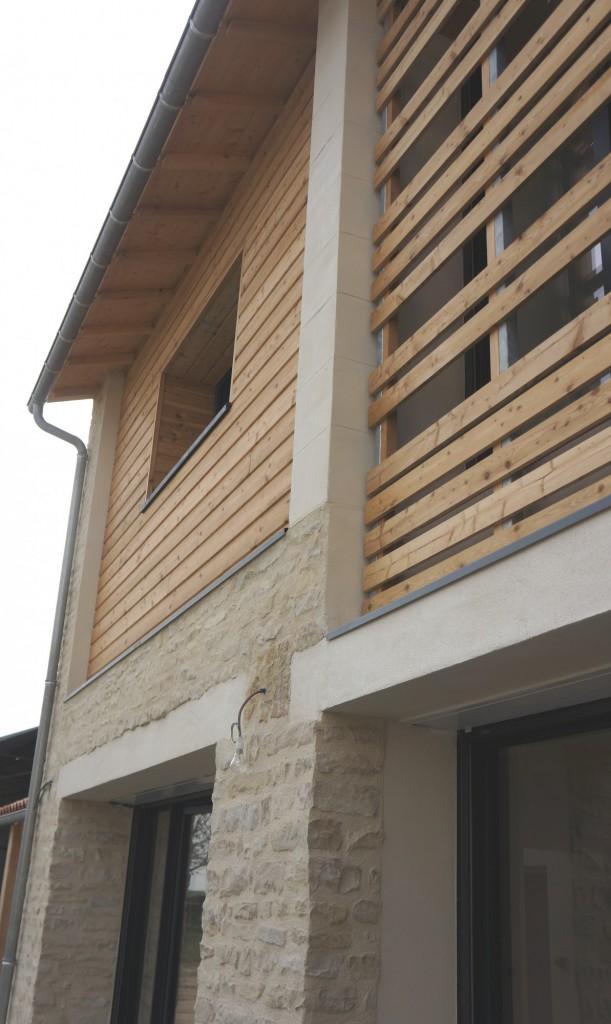 r habilitation d une grange en habitation 79 st hilaire la palud par sylvie mimbr architecte. Black Bedroom Furniture Sets. Home Design Ideas