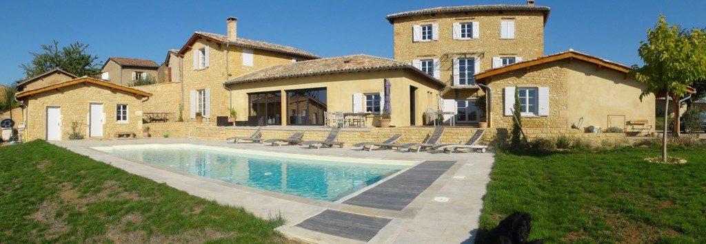 R habilitation maison pierres dor es exemple 3 par - Maison en pierre giordano hadamik architects ...