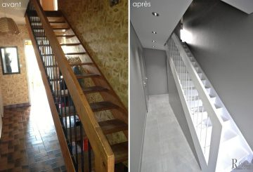 Transformation complète d'une maison des années 70, par Relooking-Déco-Actuel
