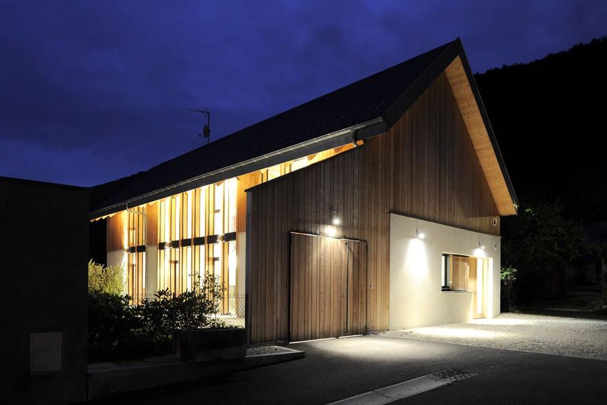 Transformation d une grange en habitation par maisonnet - Rehabilitation d une grange en habitation ...