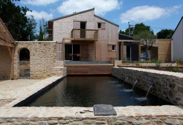 UNE MAISON BIOCLIMATIQUE À AURAY – Morbihan, par a.typique Patrice BIDEAU architecte DPLG