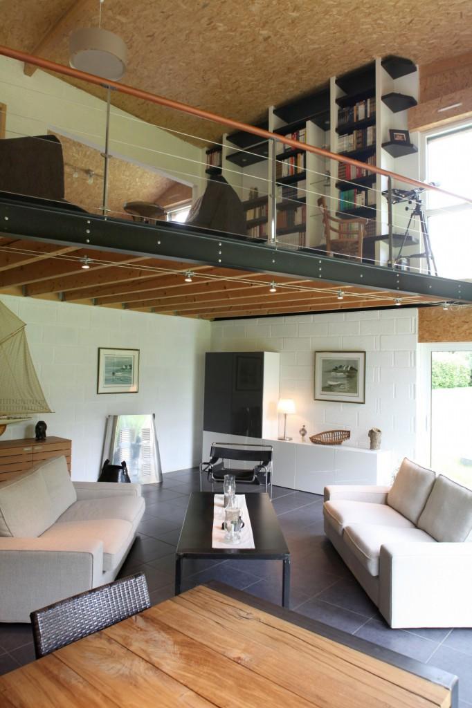 une maison bioclimatique pluvigner en bretagne par patrice bideau architecte dplg. Black Bedroom Furniture Sets. Home Design Ideas