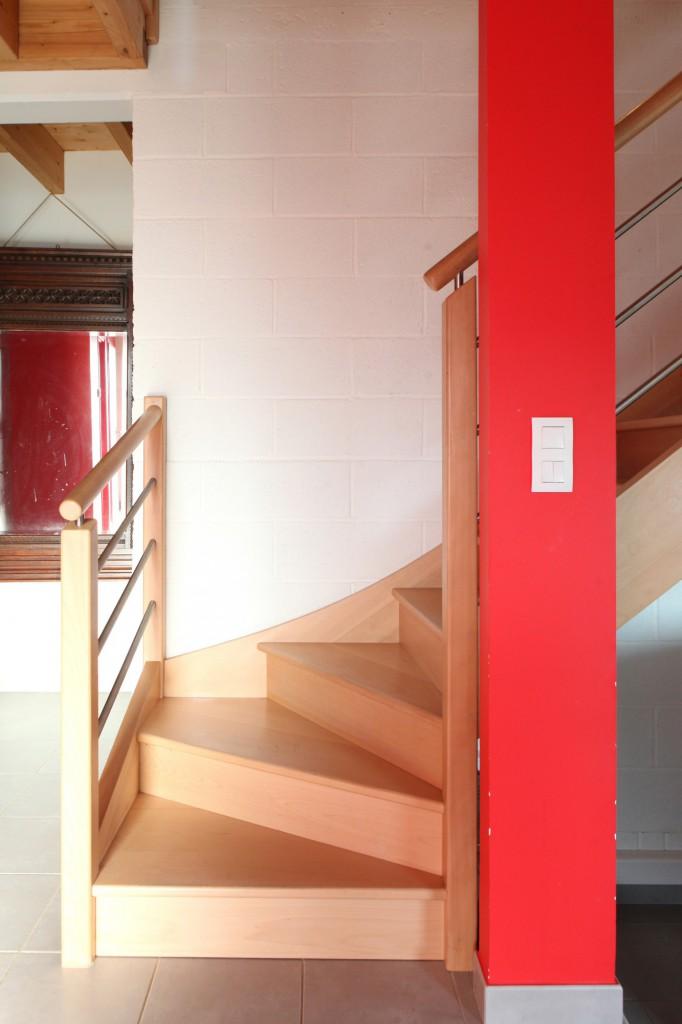 Une maison bioclimatique au coeur du pays de vannes par a for Une architecte