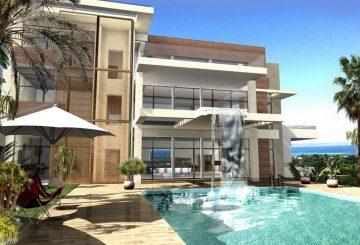 Villa moderne à Cannes. Architecture épurée, par ALPHA ARCHITECTURE
