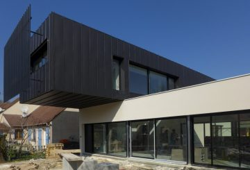 Well-balanced house – Une maison contemporaine, par SOF Architectes