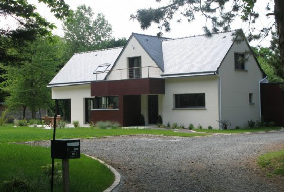 maison individuelle, par GROSS-QUELEN