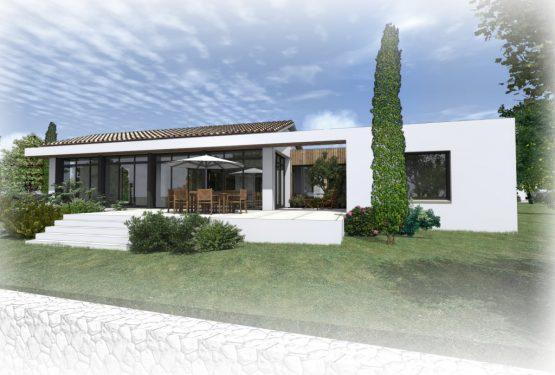 Construction d'une maison à Vallet – architecte maître d'oeuvre ATELIER 14, par ATELIER 14