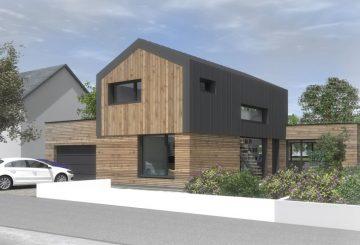 R novation et extension d une maison clisson par for Construction maison 3d a nantes