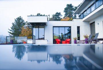 Construction d'une villa à Saint Didier au Mont d'Or, par GENEVRIER