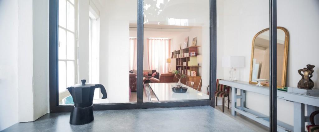 R novation de la pi ce vivre maison mat bordeaux par for Agence a la maison