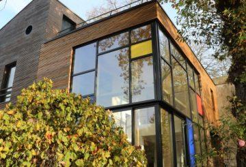 extension am nagement le sant par maiseau maison d 39 architecte. Black Bedroom Furniture Sets. Home Design Ideas