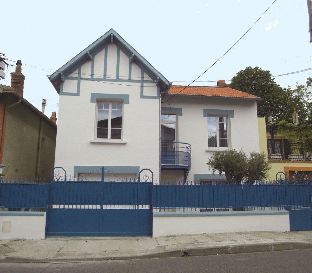 Top RENOVATION D'UNE MAISON DE VILLE – TOULOUSE, par PRATVIEL – Maison  JN34