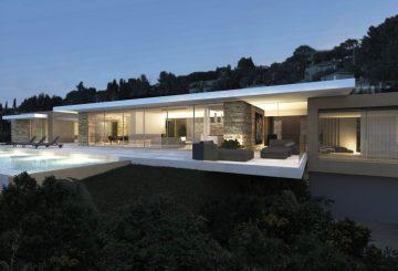Villa E – Villa contemporaine dans le Var, par Jy Arrivetz architecte
