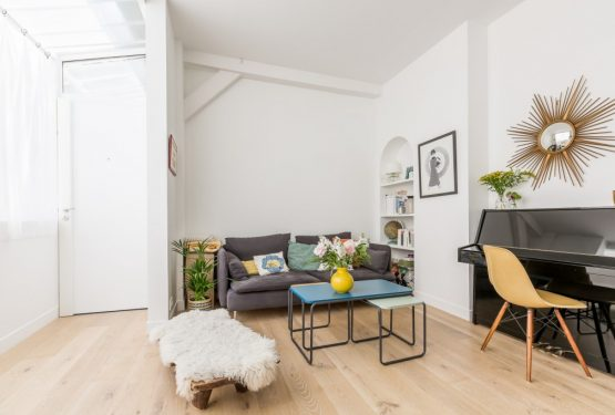 Delon-Seven – Duplex de 64m2 en plein cœur de Montmartre, par Just'n'Nousse Architecture