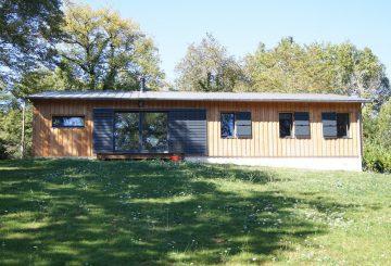 Maison d'habitation à ossature bois RT2012, par Julien DUMOLARD architecte DPLG