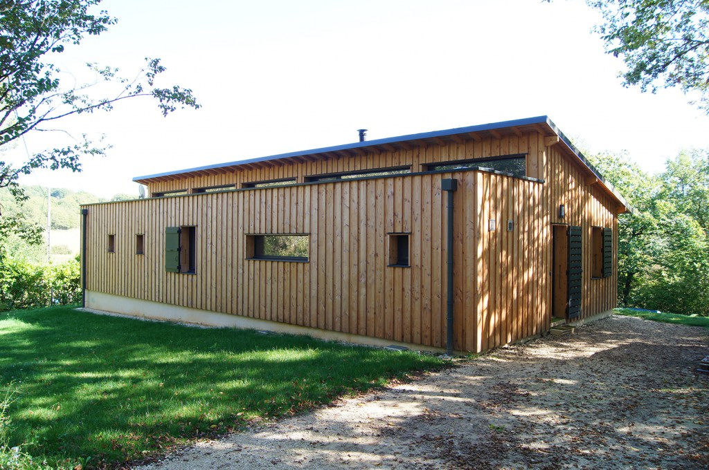 maison d habitation ossature bois rt2012 par julien dumolard architecte dplg maison d