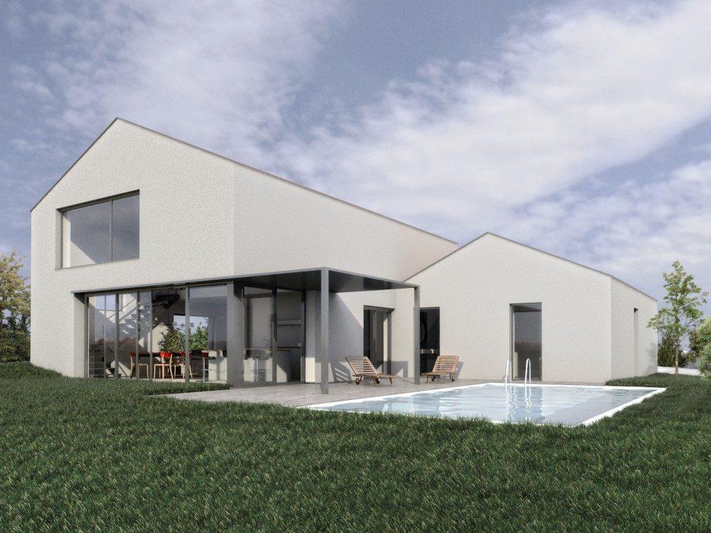 Maison individuelle brignais par formidable architectes for Architecte bordeaux maison individuelle